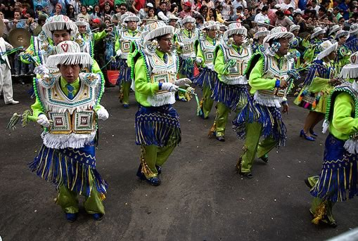 Kullawada Dance at the Oruro Carnival