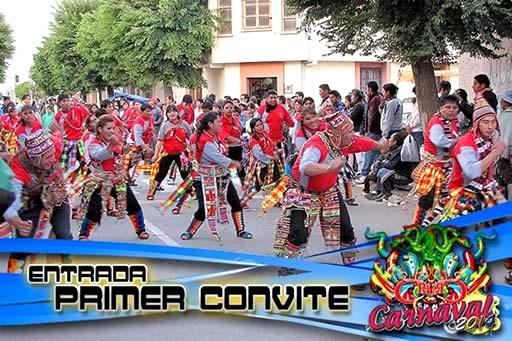 Programa del Carnaval de Oruro 2014