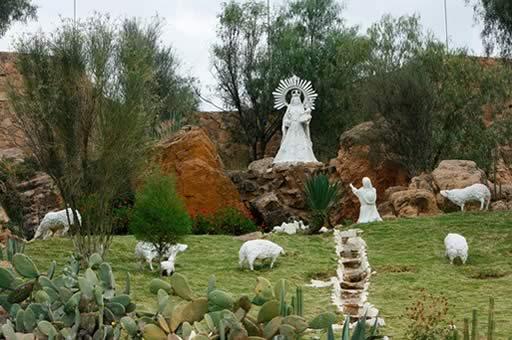 Leyenda de la aparicion de la Virgen de Urcupina