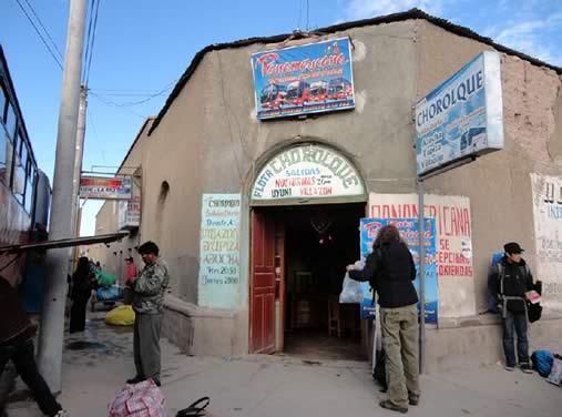 Terminal de autobuses de Uyuni