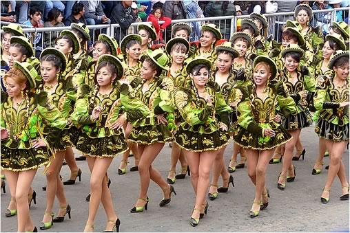 Caporales - Danza del Carnaval de Oruro