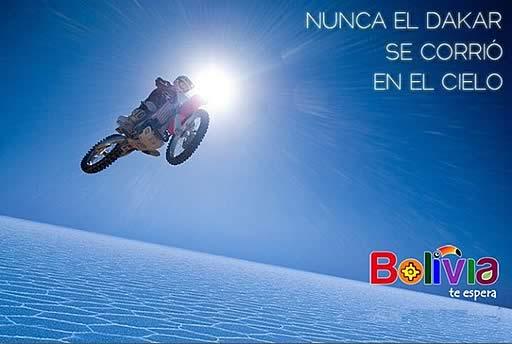 Nunca el Dakar se corrio en el cielo
