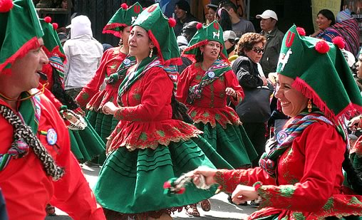 Llamerada Dance at the Oruro Carnival