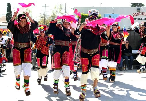Pujllay Dance at the Oruro Carnival