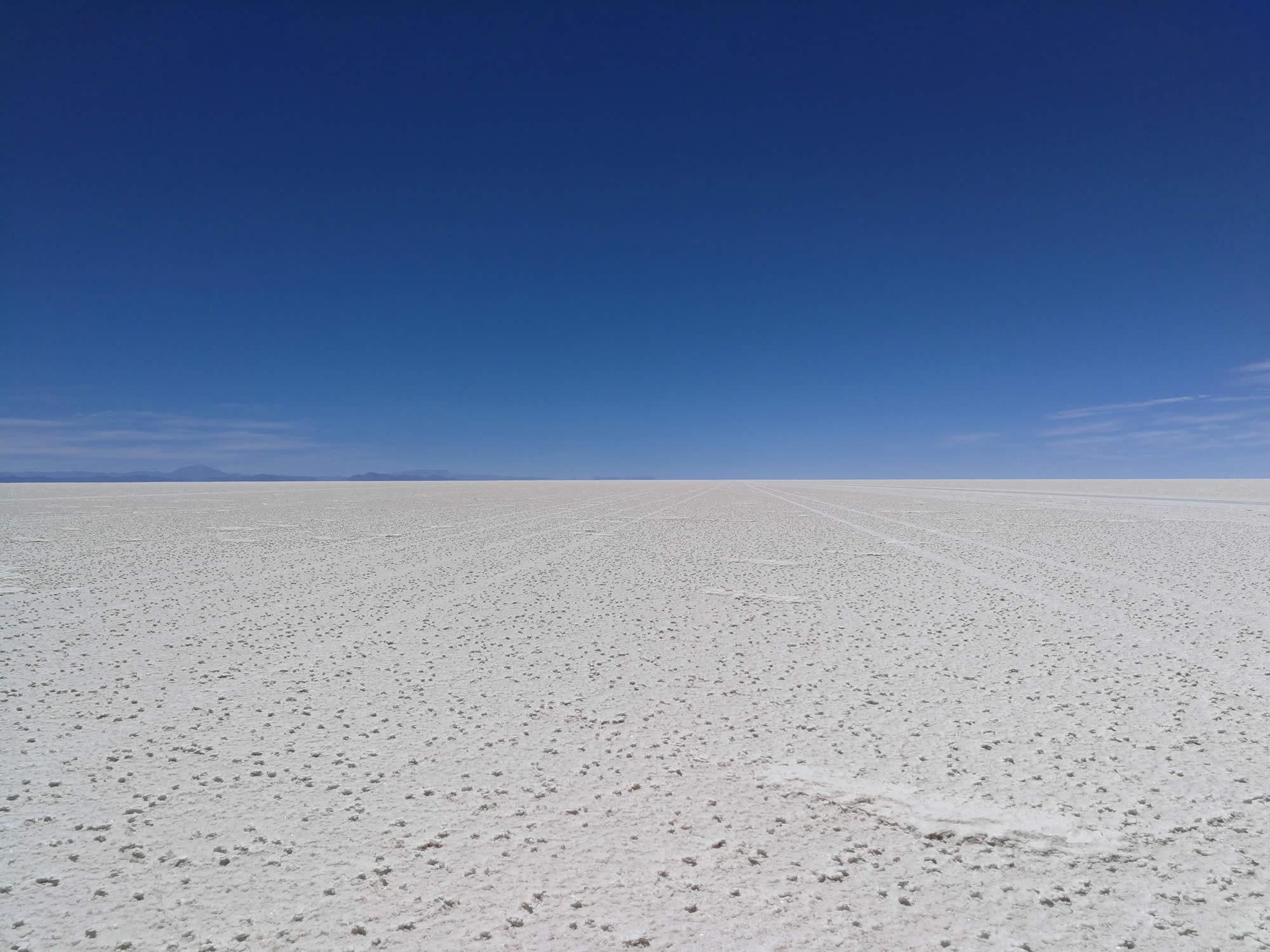 Bolivia Desierto de Sal Seco
