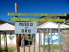 Gold Museum, Isla del Sol