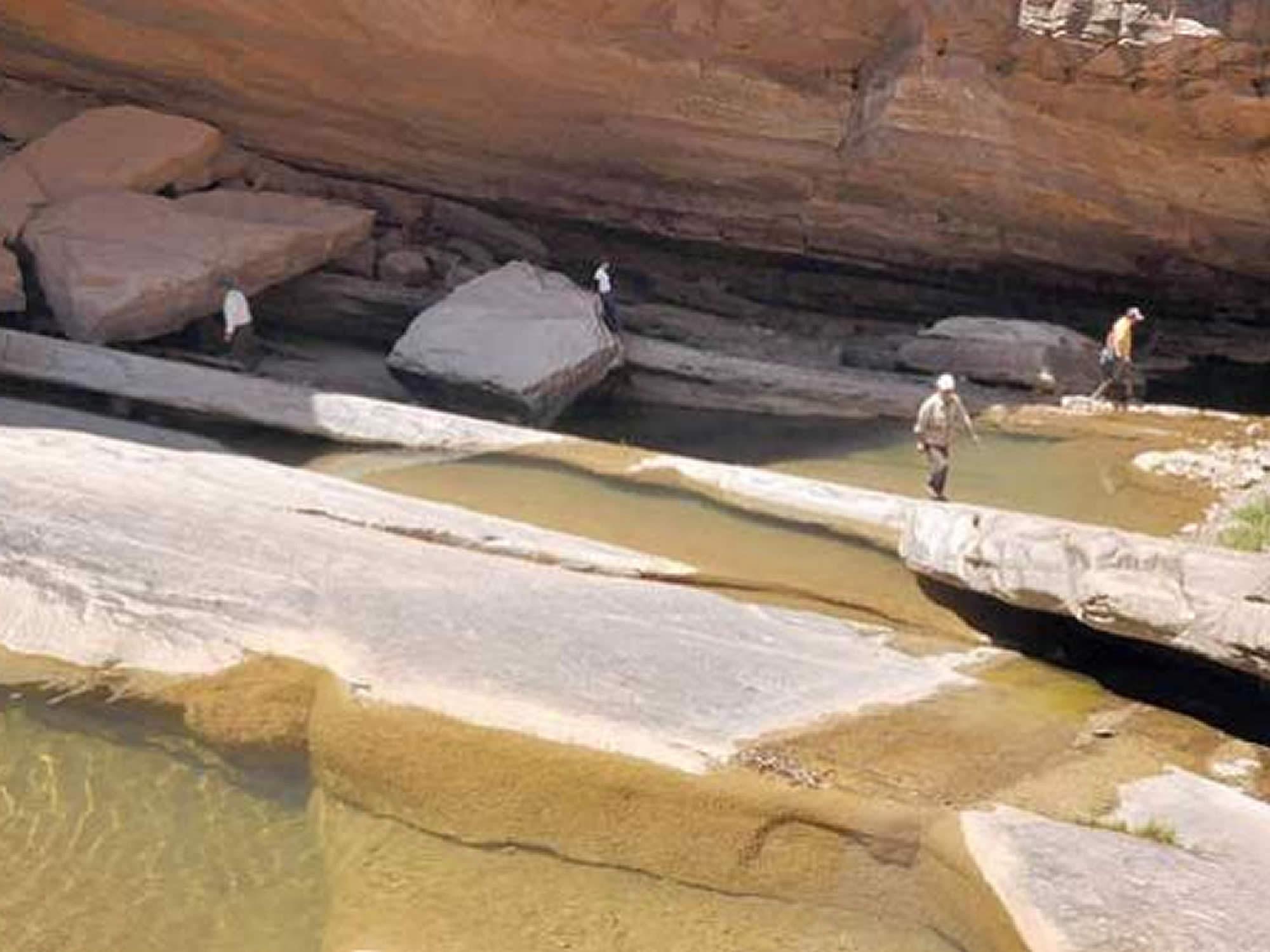 Cascadas en la Poza de las Golondrinas