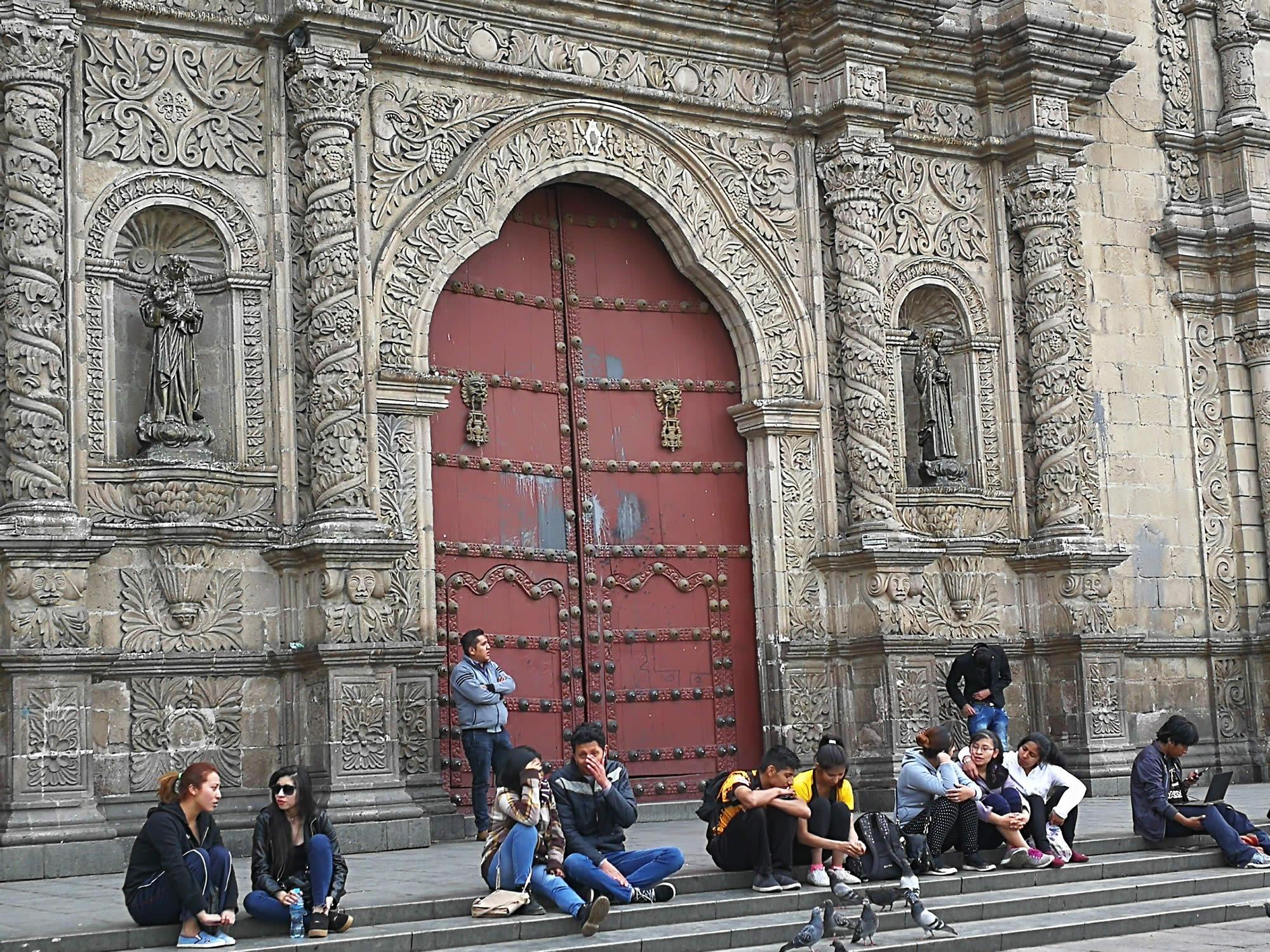 La ciudad de La Paz, La Paz