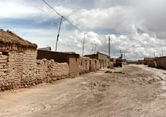 Pueblo de Colchani