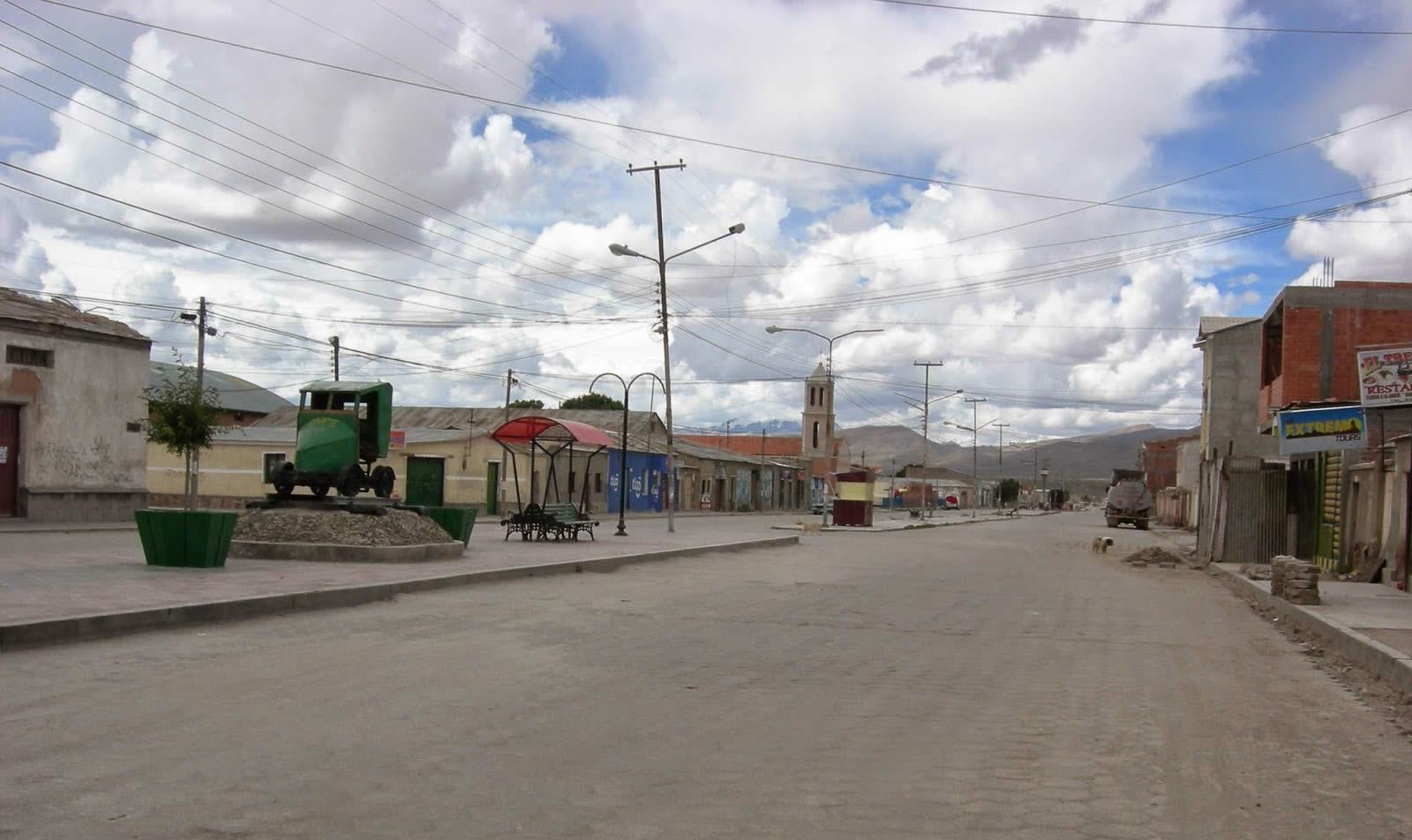 Pueblo de Uyuni