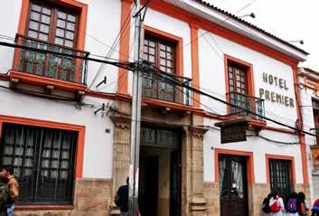 Premier Hotel, Sucre