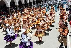 Carnaval de Oruro 2018 Paquete Hotel Galaxia, Oruro