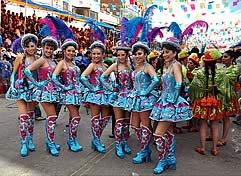 Carnaval de Oruro 2018 Paquete Hotel Bernal, 3 Noches