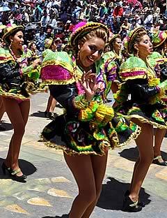 Carnaval de Oruro 2018 Paquete Alojamiento Copacabana, Oruro