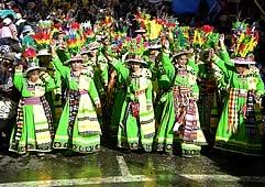 Carnaval de Oruro 2018 paquete Residencial Gran Boston, 3 Noches