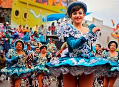 Carnaval de Oruro 2018 Paquete Residencial Gran Florida, 3 Noches