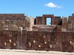 Tour a Tiwanaku y ciudad de La Paz, Tiwanaku