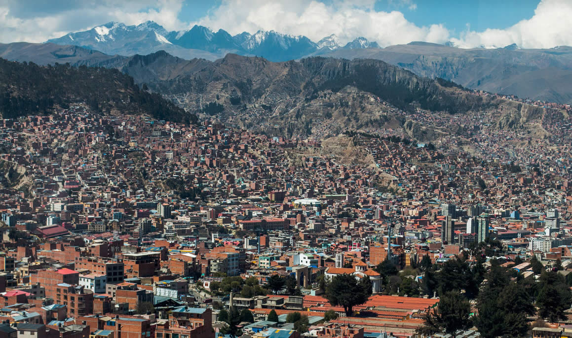 Vista de La Paz