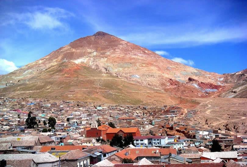 Potosí y sus minas de plata