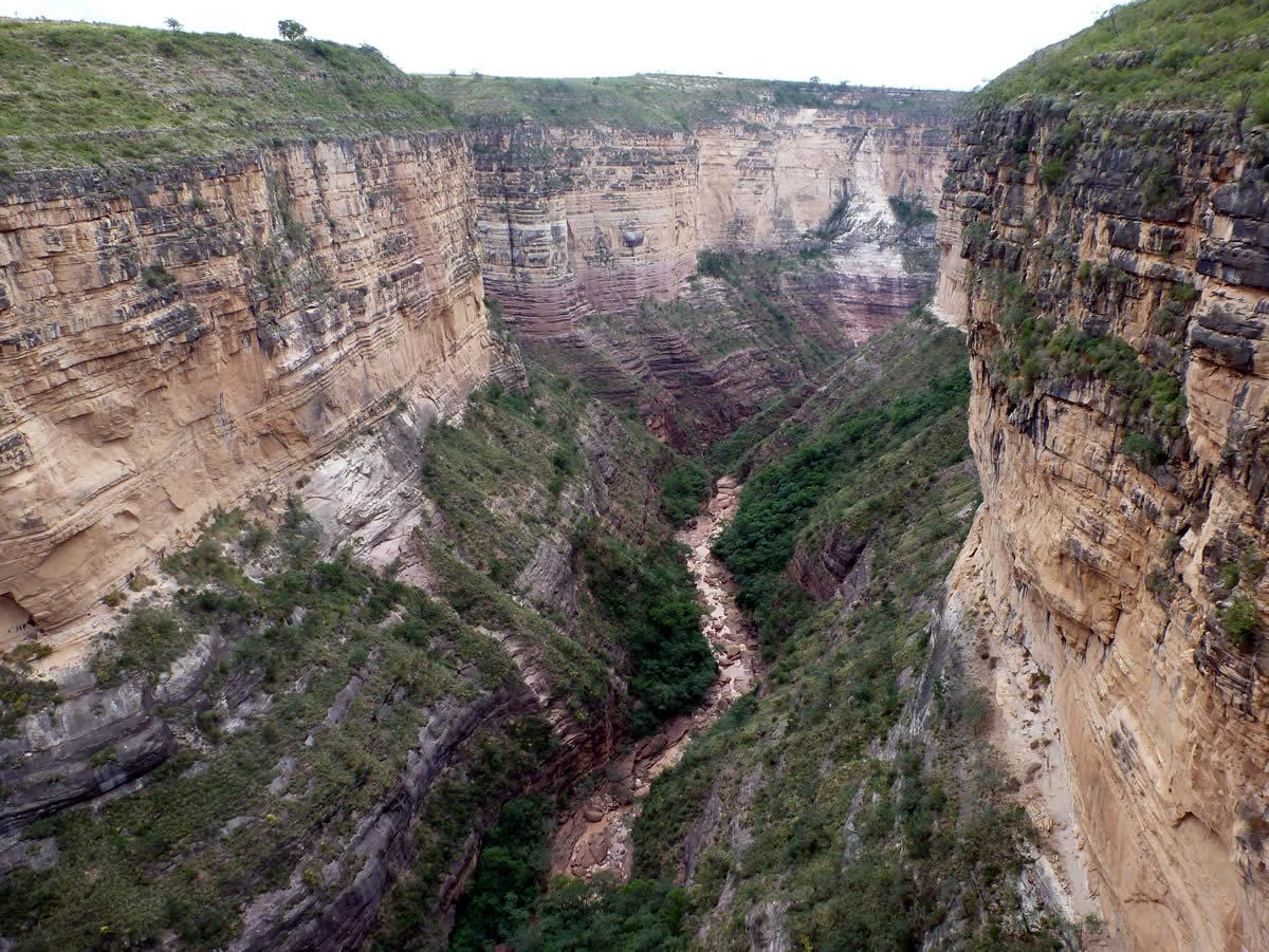 Parque Nacional Toro Toro Garrapatal Canyon