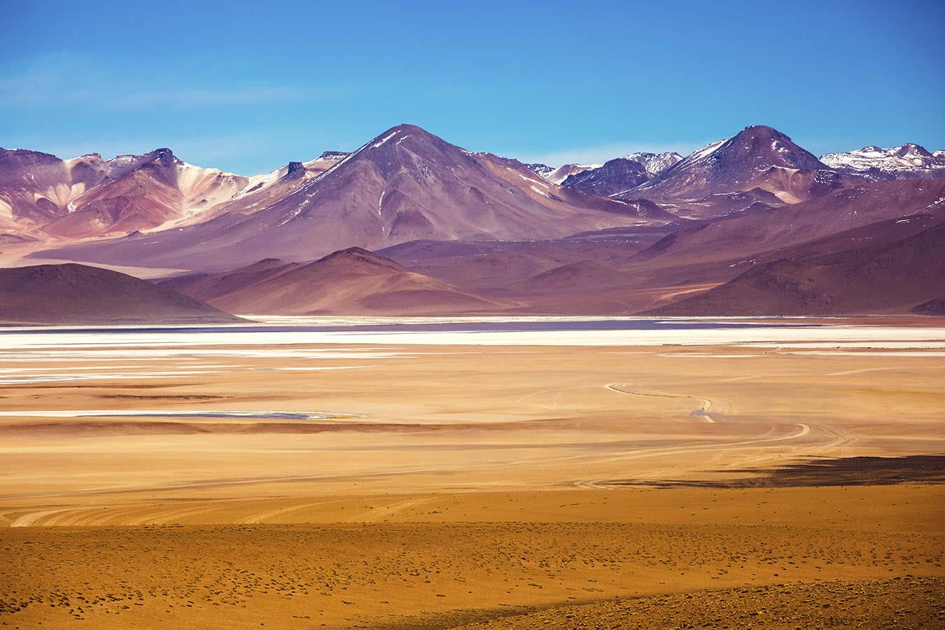 Desierto del desierto de Uyuni Salvador Dalí
