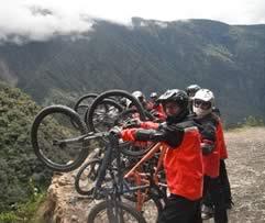 El Camino de la muerte - Bicicleta de Montana, La Paz