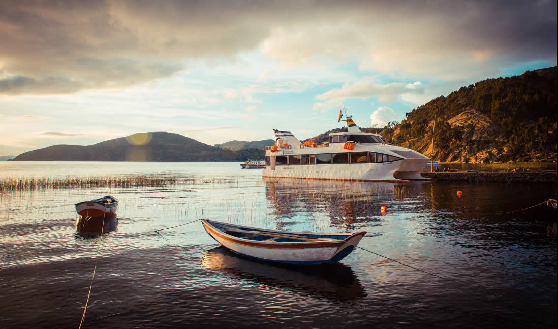 Crucero Catamaran La Paz, Lago Titicaca, Isla del Sol, La Paz, Full day -  Día Completo