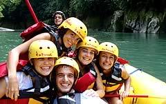 Rafting por el Rio Coroico - Puente Armas - Puerto Leon, Yungas, 1 Día, <b>Clase:</b> III - IV