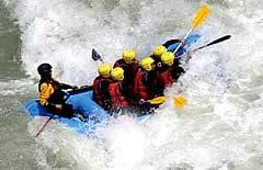 Rafting y Kayaking por el Rio Coroico, Yungas, Coroico