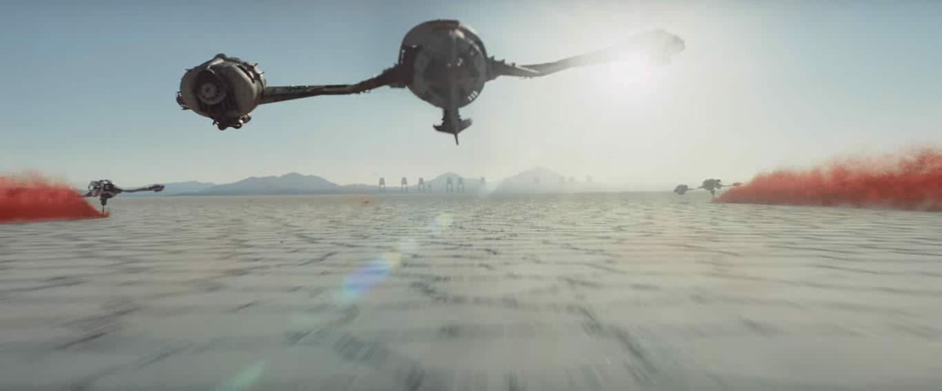 Salar de Uyuni en Star Wars 8