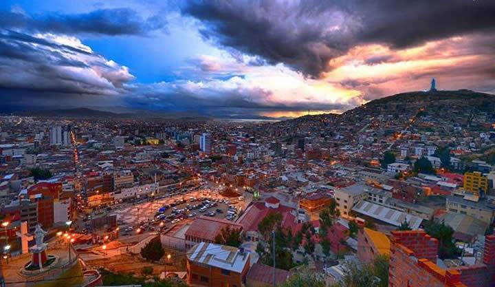 La Paz Oruro private transfer
